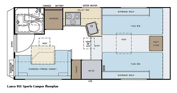 07lance9scfp slide in truck campers by lance camper manufacturer lance truck camper wiring diagram at bayanpartner.co
