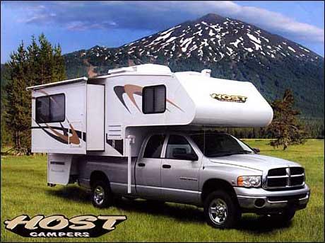 Slide In Truck Camper Warehouse Host Camper Model