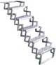 "18 "" Aluminum Scissor Steps"