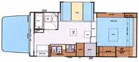 Lance camper model 1131 floor plan